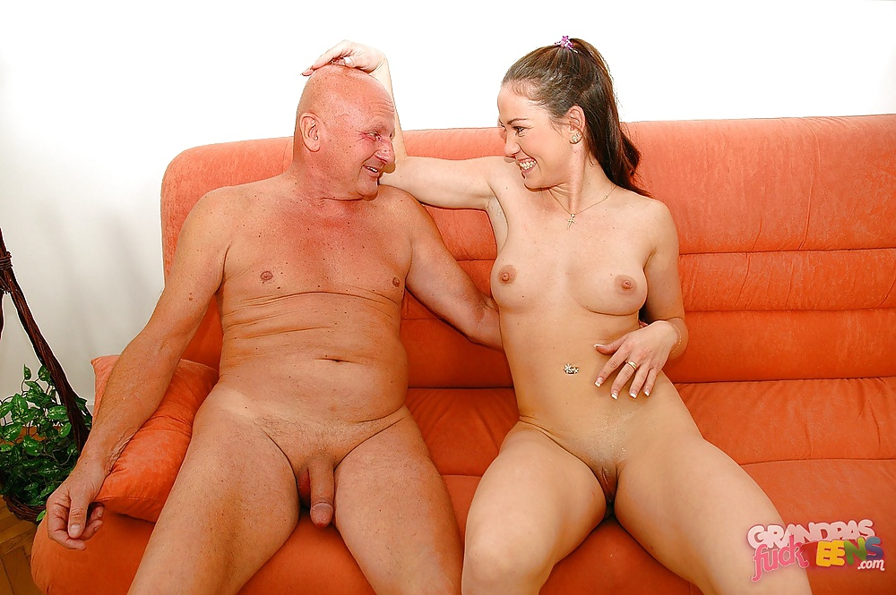 Old fat grandpa sex young black pussy