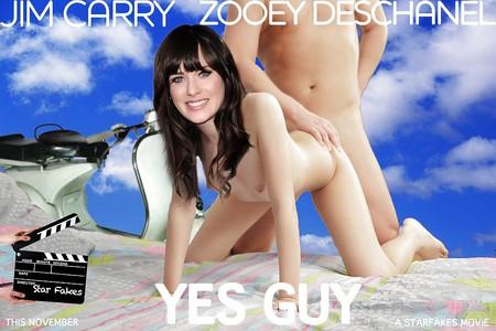 nackt Deschanel Zooey Zooey Deschanel