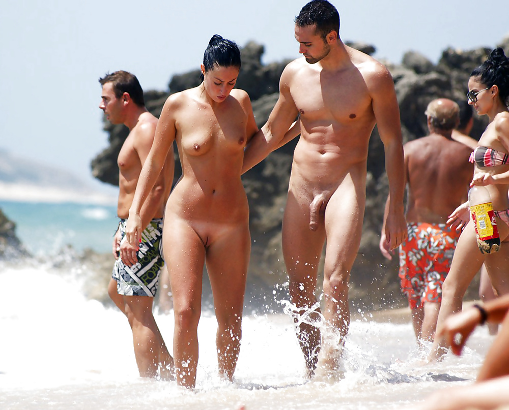 nackt vor publikum