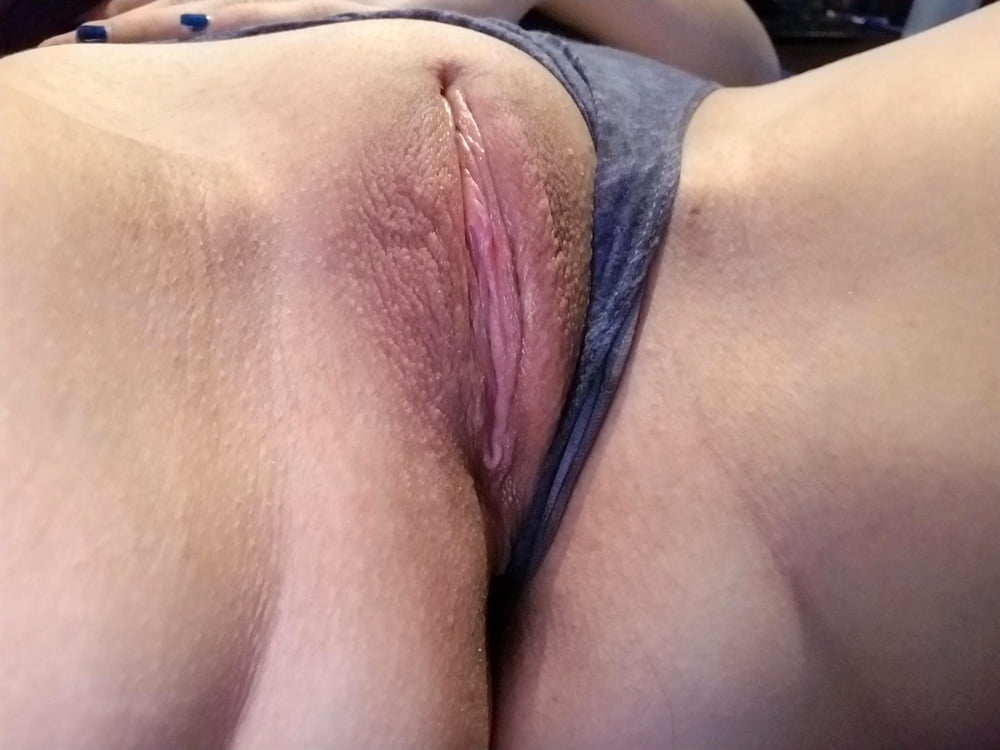 Pulled Aside Panties Flashing