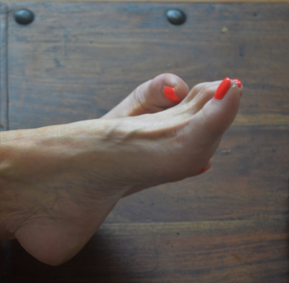 My new french pedicure