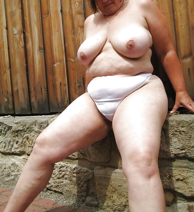 Naked Fat Old Lady