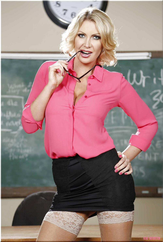 All hot girls blonde teacher