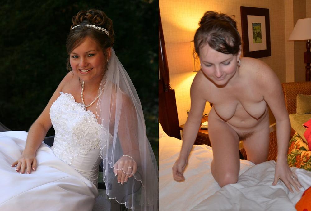 Naked new brides