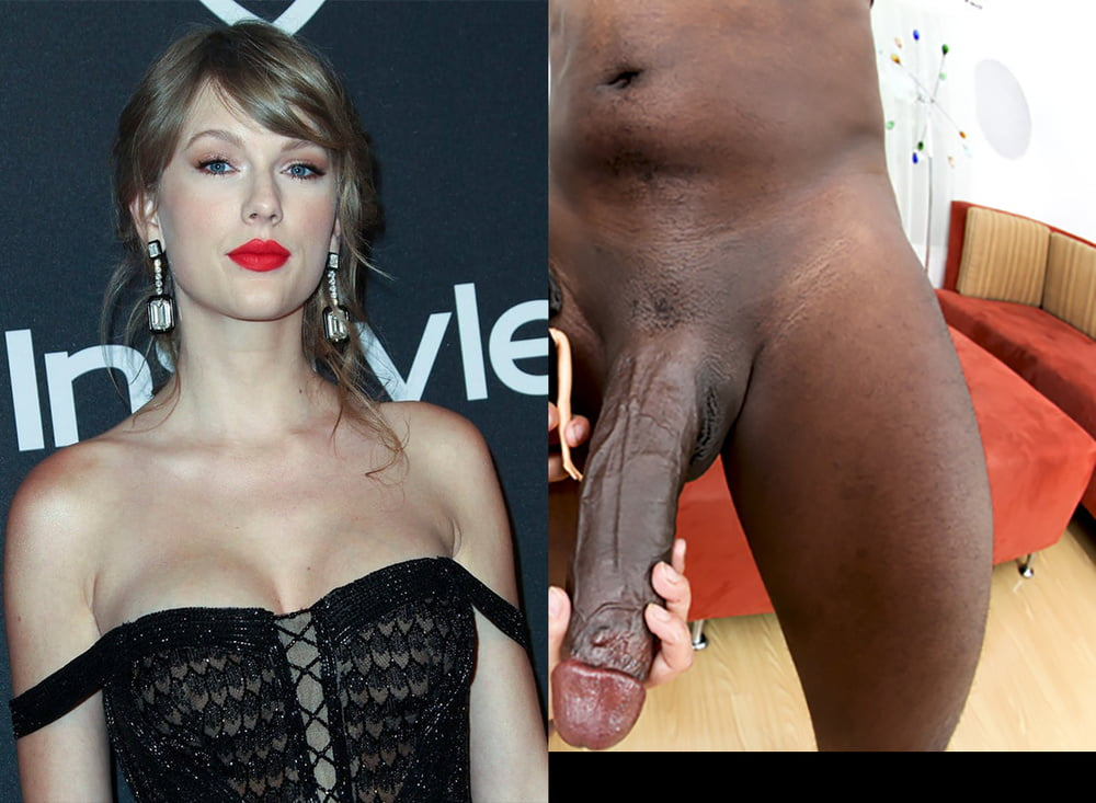 Celebrity with huge black cock