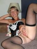 Mature Lady NO panties