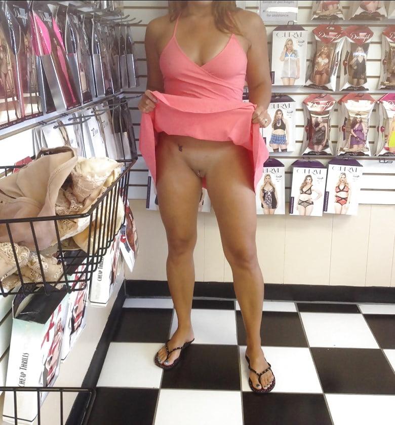 Naked public amateur