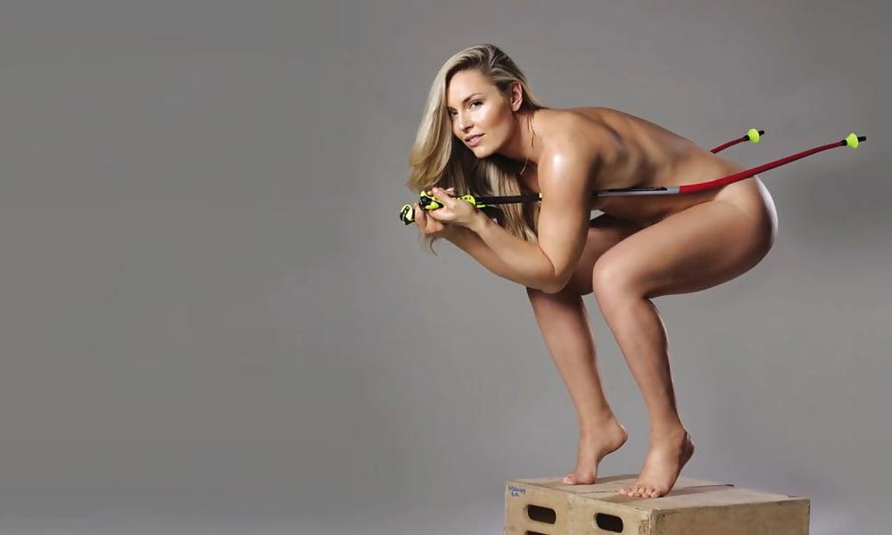 Non-nude naked curling calendar bbw