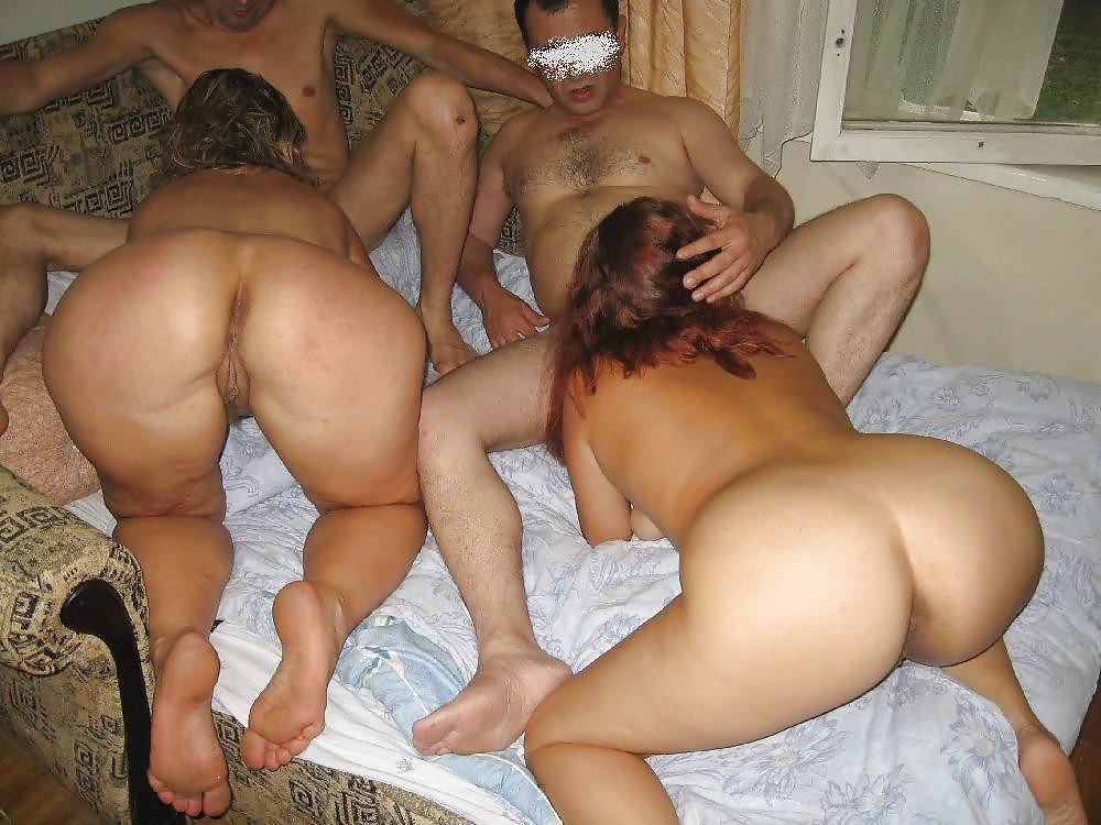 Interracial amateur homemade crack orgy