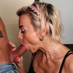 Sanny Old Whore Fucking