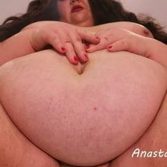 POV BBW Facesittingand Belly Play