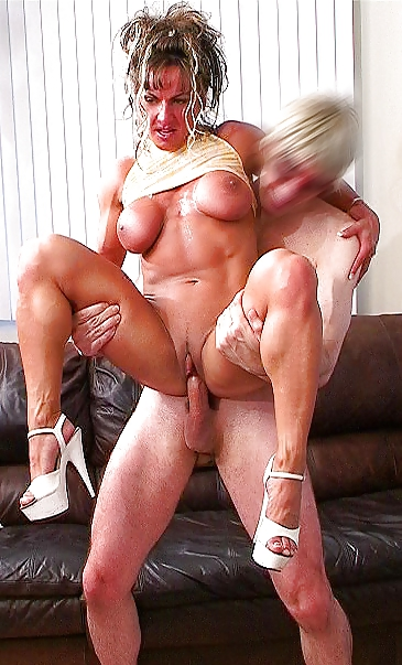 Woman fucking men with muscles, cloud tifa sex