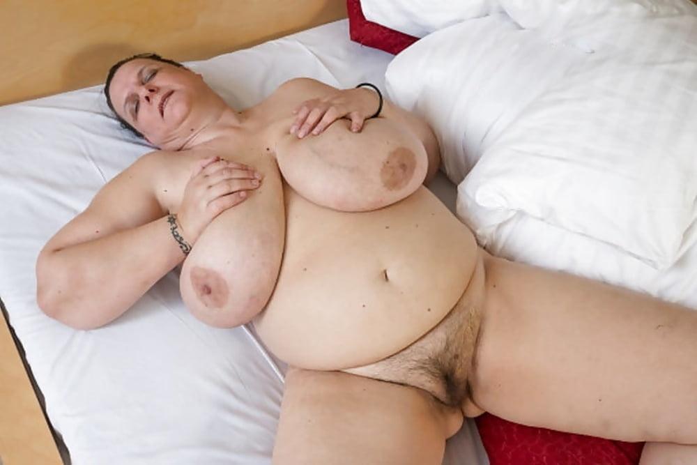 Granny monster cock