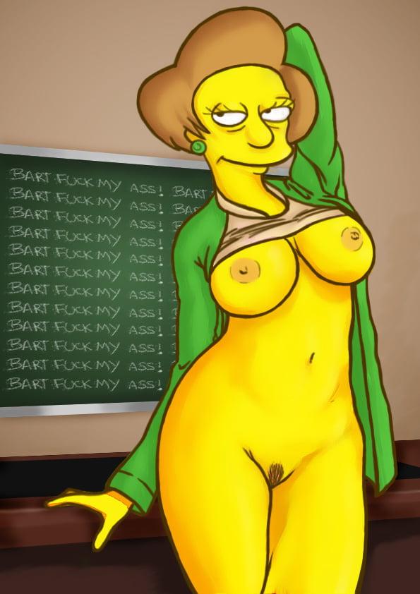 Simpsons edna porn edna krabappel sexy the simpsons porn jpeg