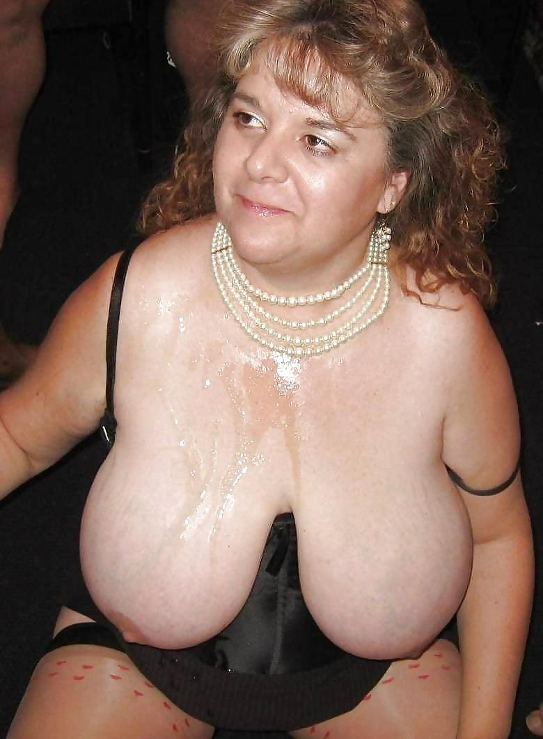 Grandmas with large tits