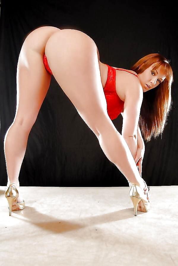 Hot curvy naked women bent over