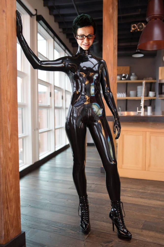Fetish rubber leather wear online — photo 8