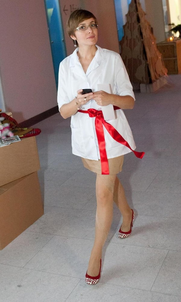Christmas Event Pantyhose Part 1 - 29 Pics