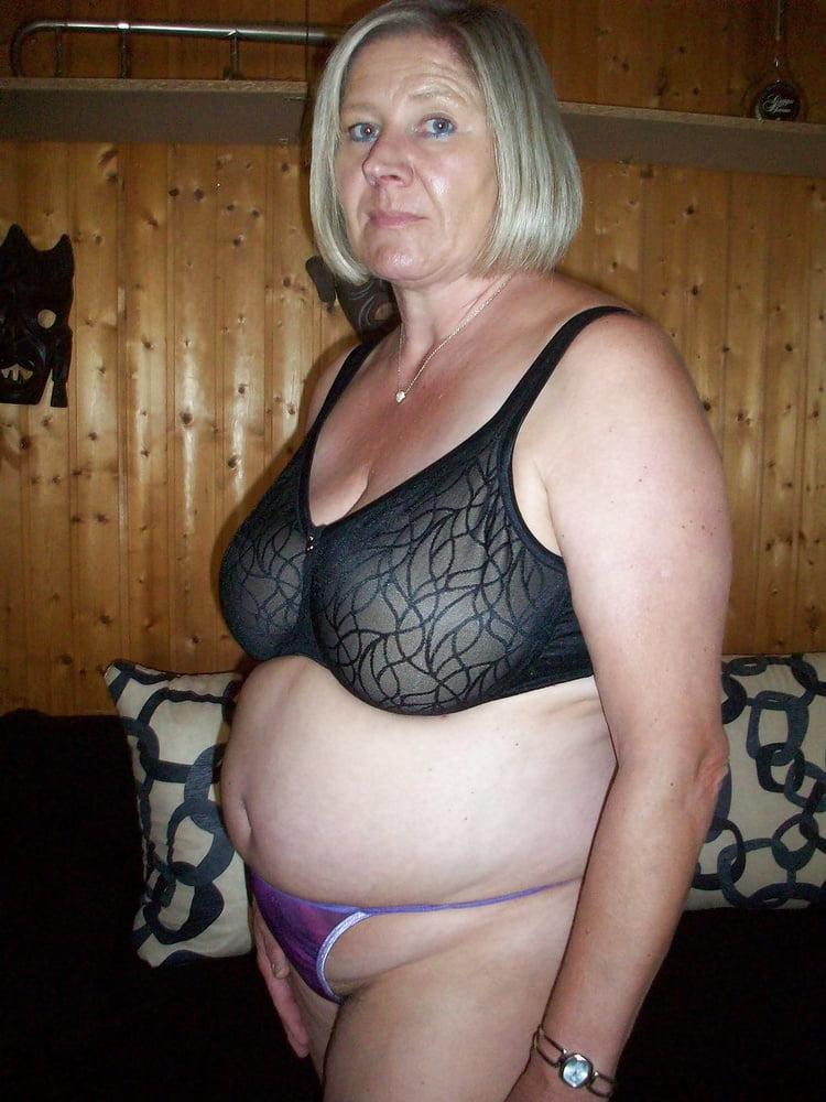 Hot mature lingerie