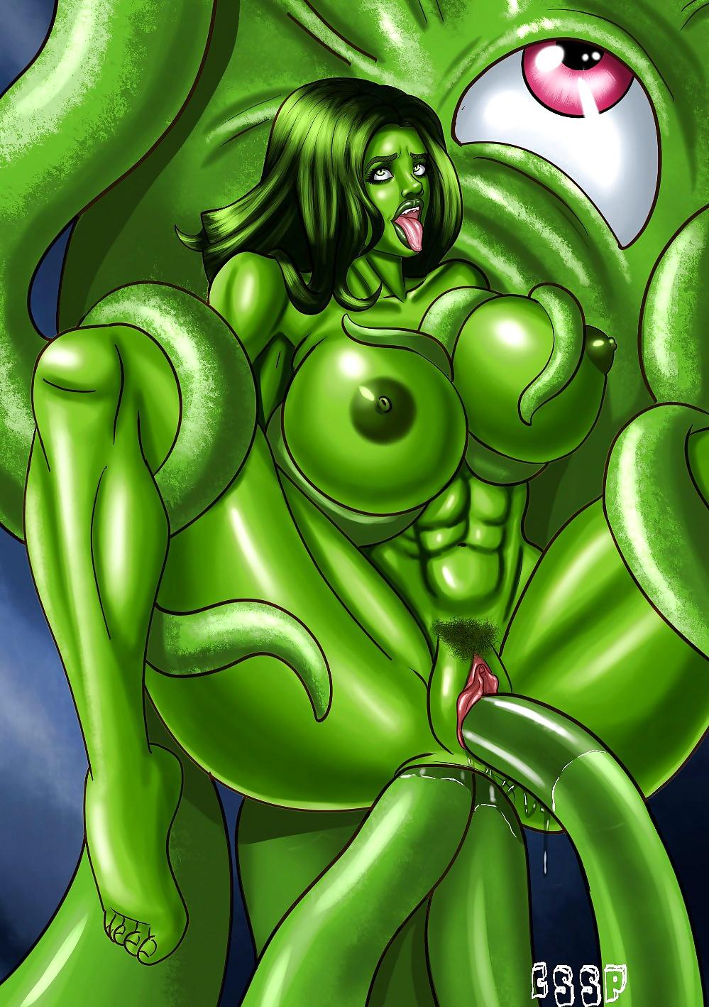 Hulk hands girl tits — 9