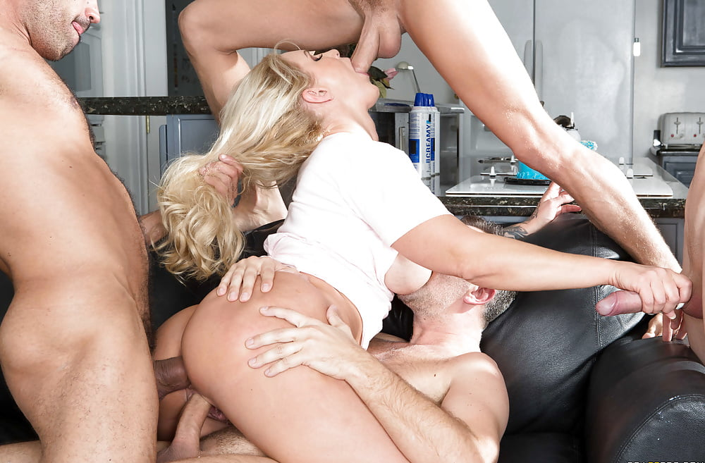Hot Milf Ryan Conner Fucking Four Guys At Once My Pornstar 1