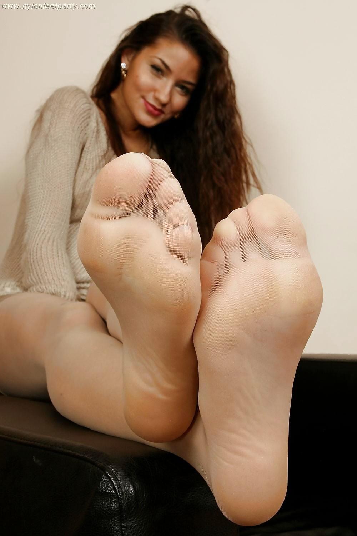 Sexy Pantyhose Feet - 14 Pics - Xhamstercom-4670