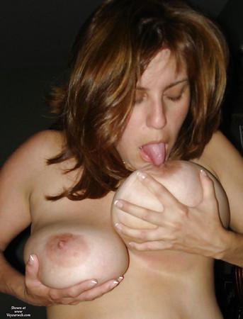 tit sucking Boob licking