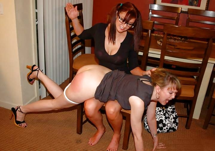 Hard spanking for naughty wife