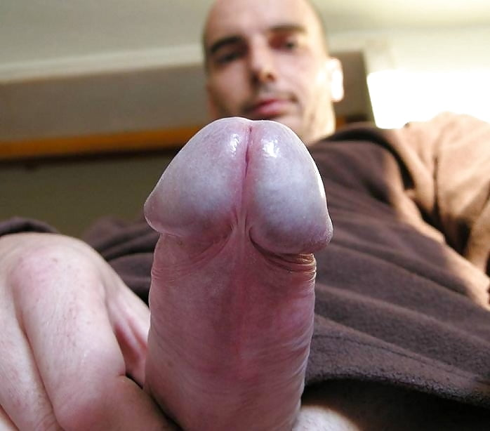 Boy outdoors with soft cock