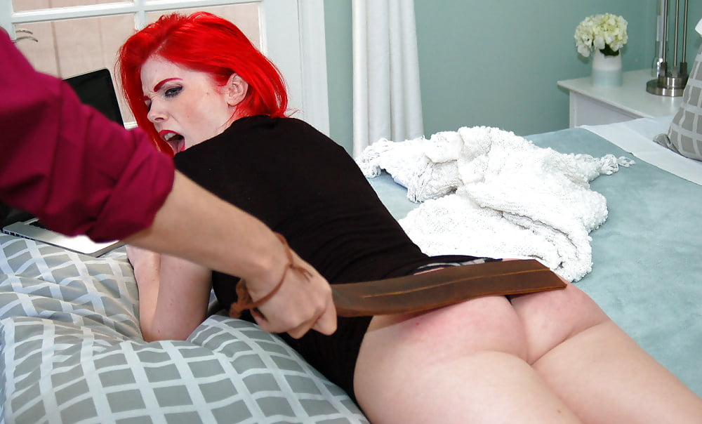 Red head women being spanked, busty natural porn