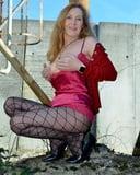 German Mature Models Nylons Stockings Heels for her boy
