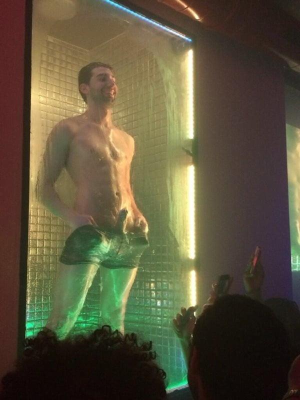 videos masturbation exhibitionist Public male
