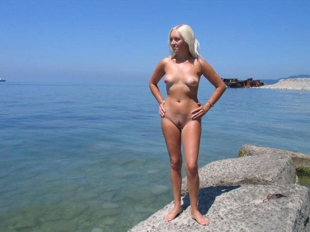 жена на море голышом - 6