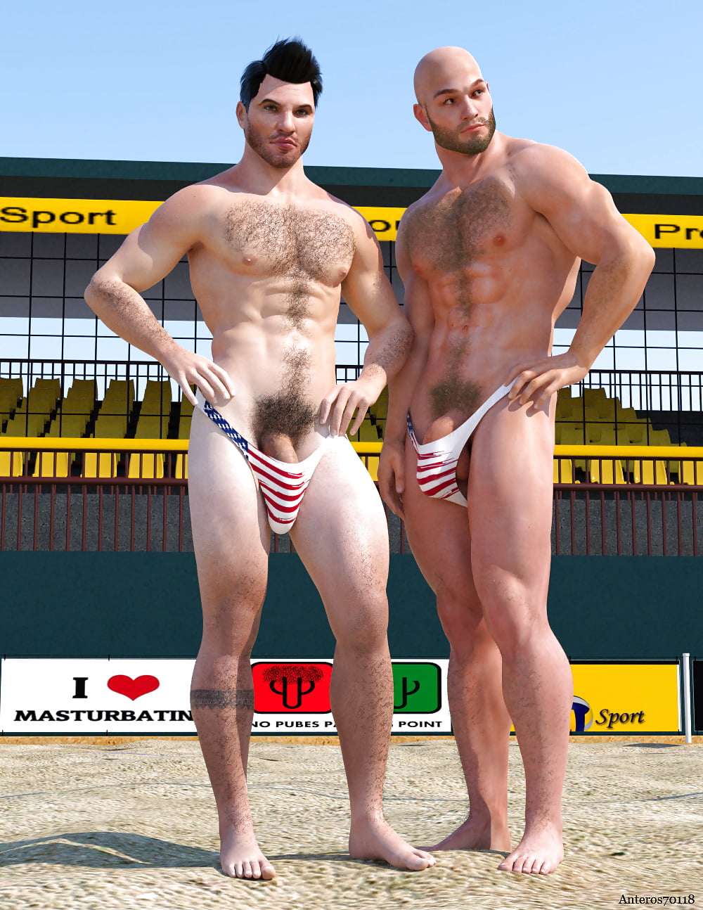 beach-volleyball-nude-man