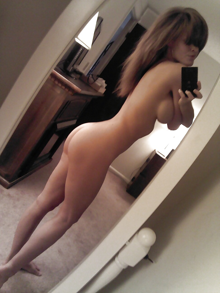 Nude Pretty Girl Mirror Homemade