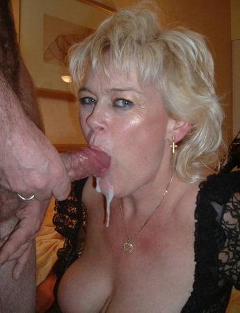 Milf Cum In Mouth