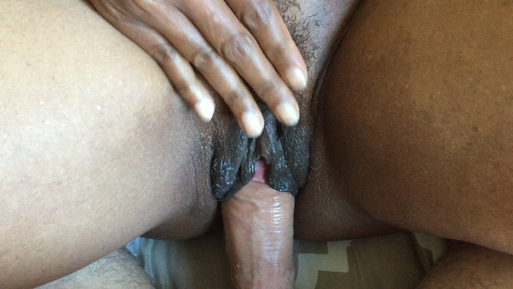She wants him to really commit on eating her cock hungry pussy