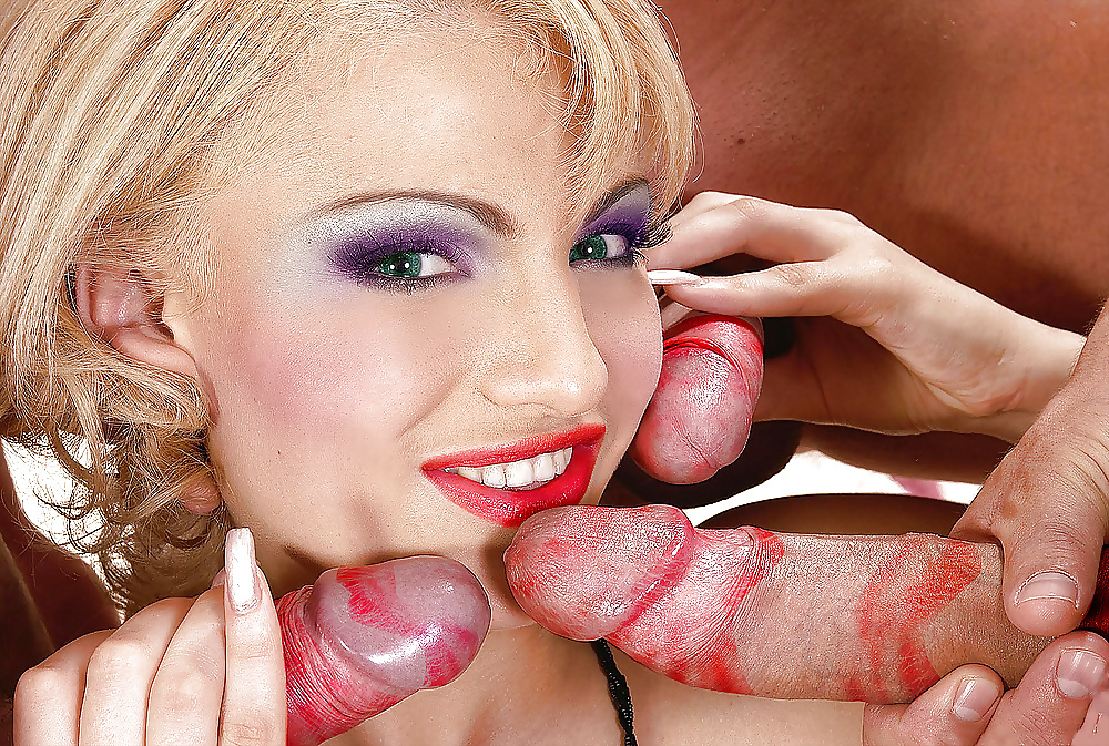 Free Red Lipstick Porn Pics