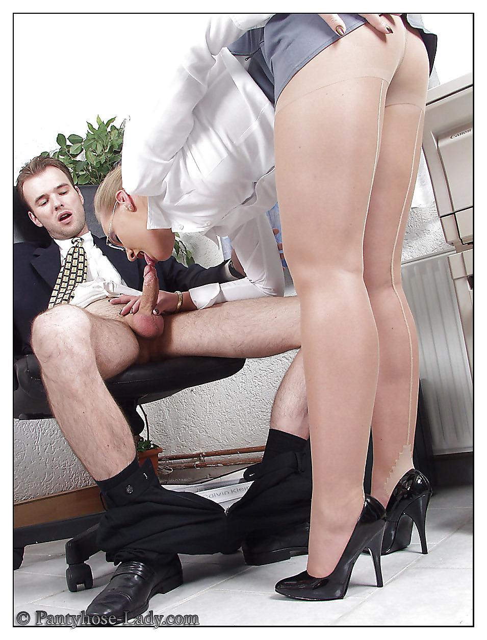 Office nylon sex — 15