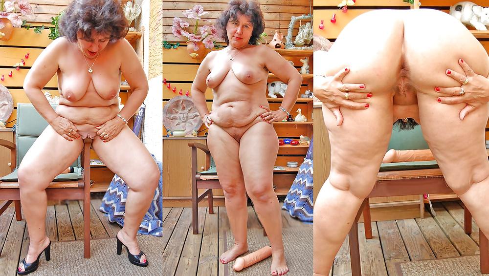 Skinny granny viviana