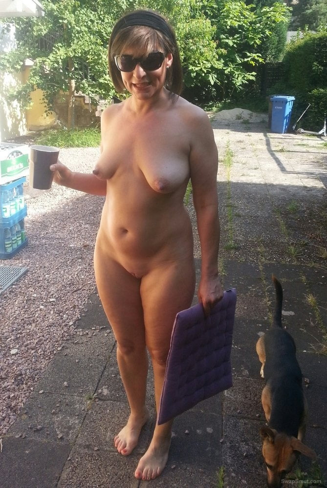 Teen birthday naked housewife outside