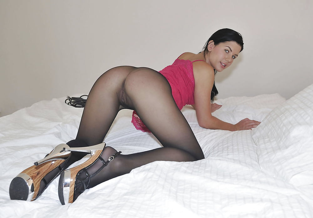 Домашнее порно девушки колготки фото порно ожидала что трахнут
