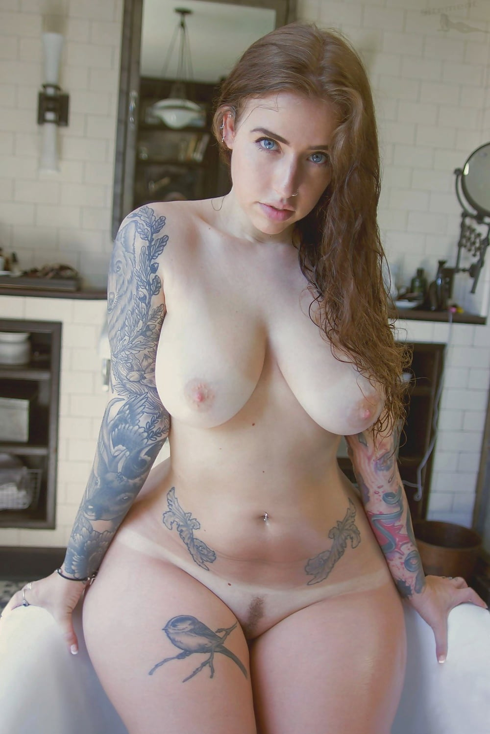 Guy chubby nude tattoo girl