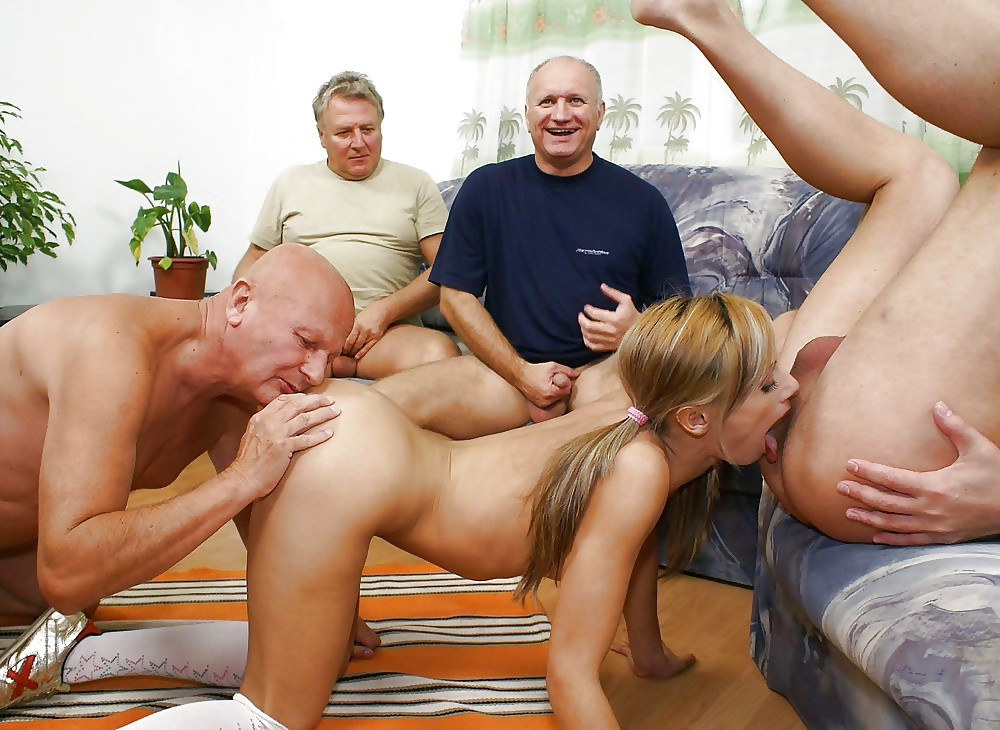 Free old men young girl porn