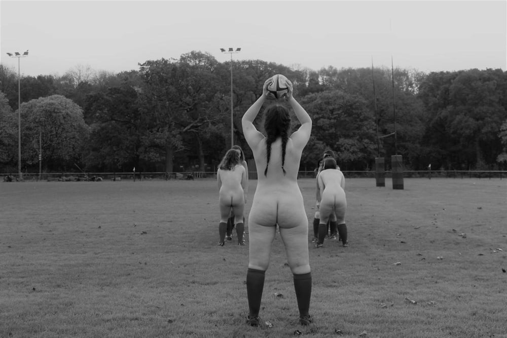 Nude female rugby 7
