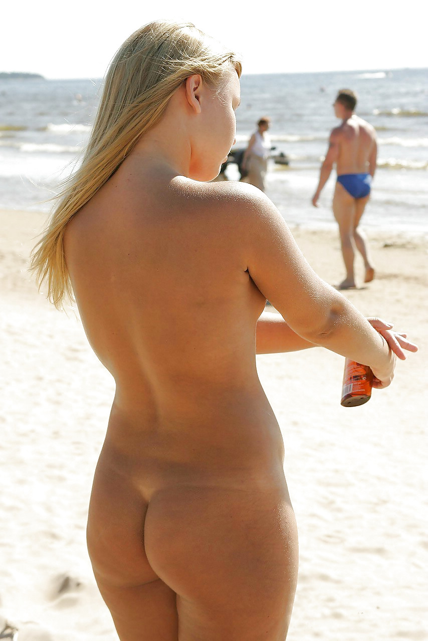Nude beaches with fine ass women #14