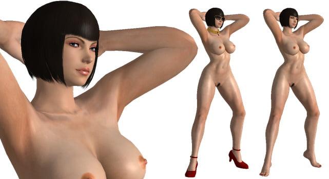 Tekken girls naked nude