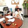 Pro ladies in white panties 4-My doctor wears sheer panties.