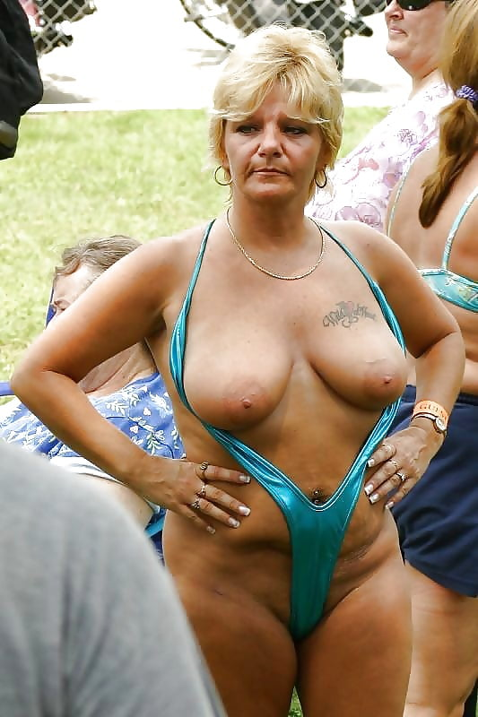 Sexy swimsuit grannies — pic 15
