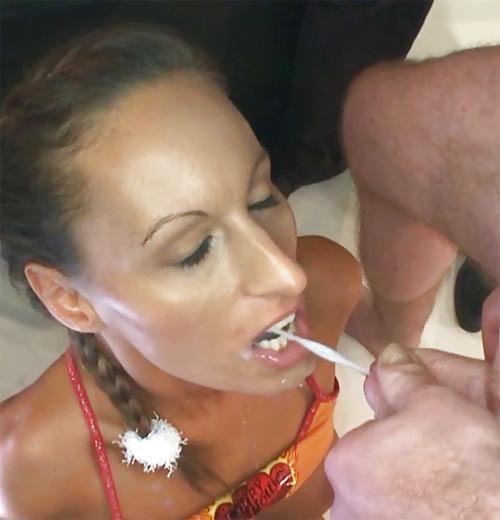 Cum oral pic shot